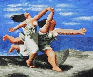 Pablo Picasso: Dvě ženy běžící po pláži