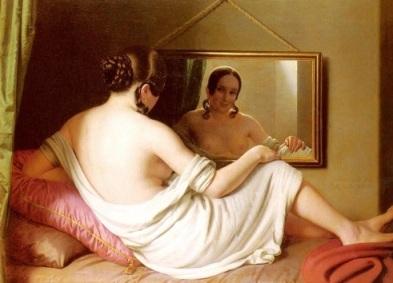 Einsle_Anton_A_Woman_Before_A_Mirror_large