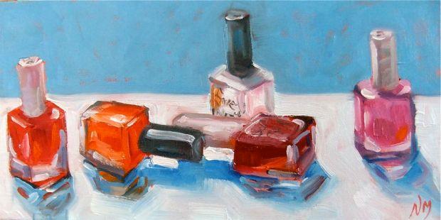 oil painting nail polish MacPhail