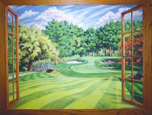 Wall_Mural_-_Golf_Course_Window