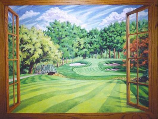 Wall_Mural_-_Golf_Course_Window