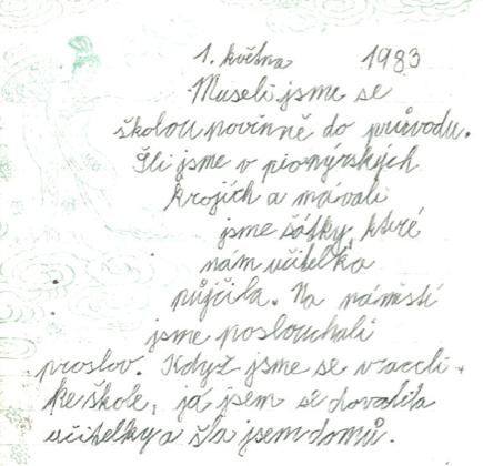 1. května 1982