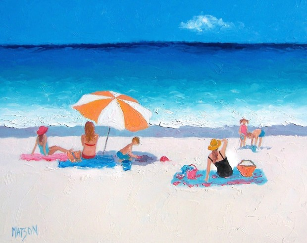 Beach-Painting-summer-vacation-by-Jan-Matson-1024x812